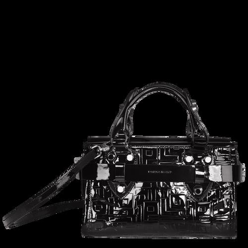 View 1 of Small tote bag, 001 Black, hi-res