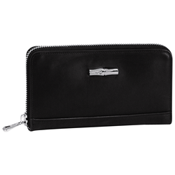 Zip around wallet, 001 Black, hi-res