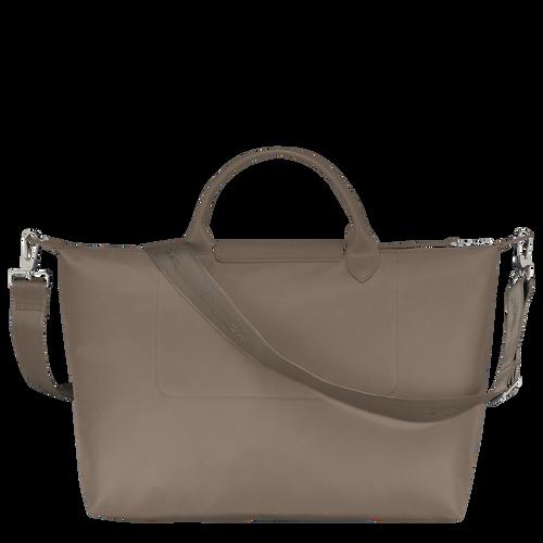 Le Pliage Néo Top handle bag L, Taupe