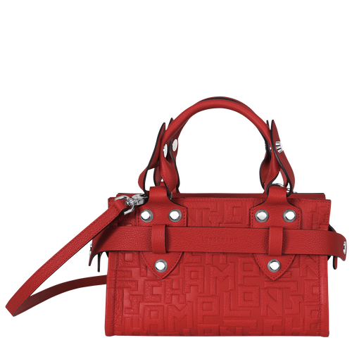 View 1 of Small tote bag, Burnt Red, hi-res