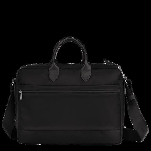 Briefcase, Black/Ebony - View 3 of 4 -