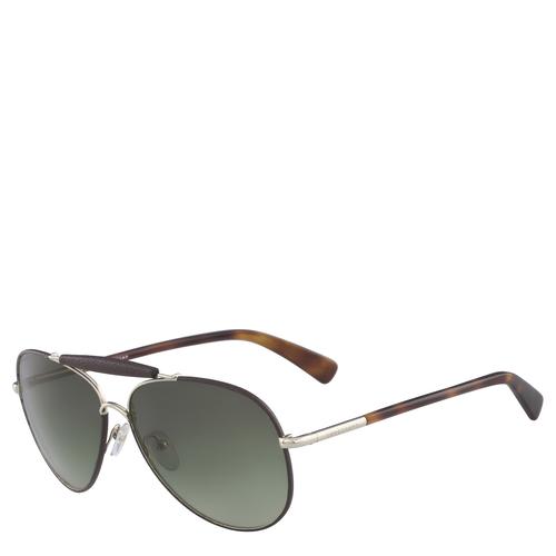 Sunglasses, Gold/Ebony - View 2 of 2.0 -
