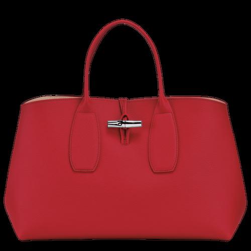 Top handle bag L, Red, hi-res - View 1 of 5