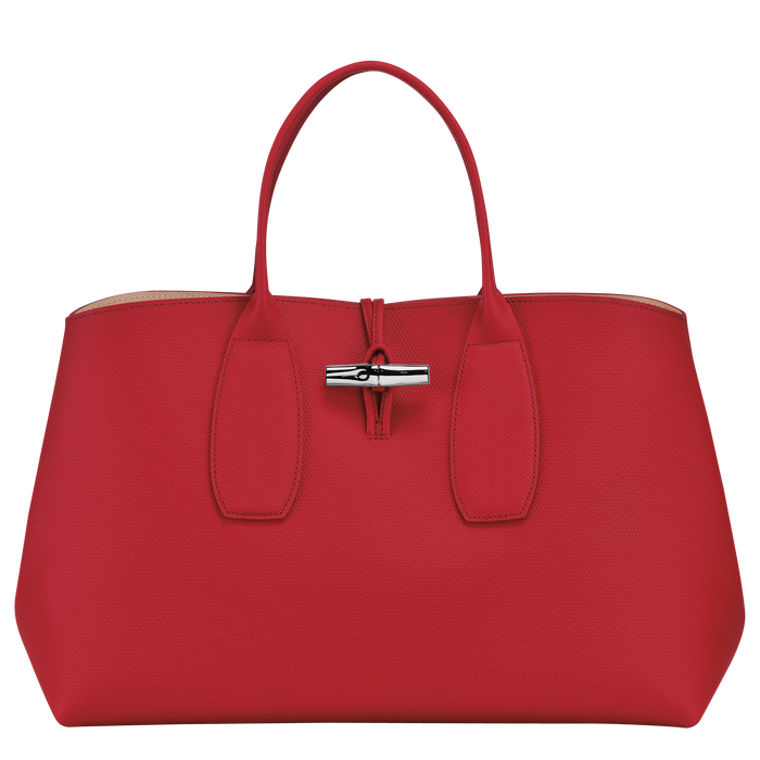 Top handle bag L, Red - View 1 of  5 - zoom in