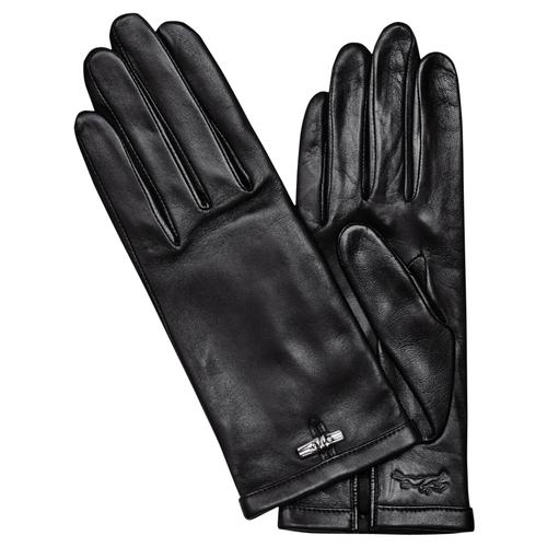 Women's gloves, 001 Black, hi-res