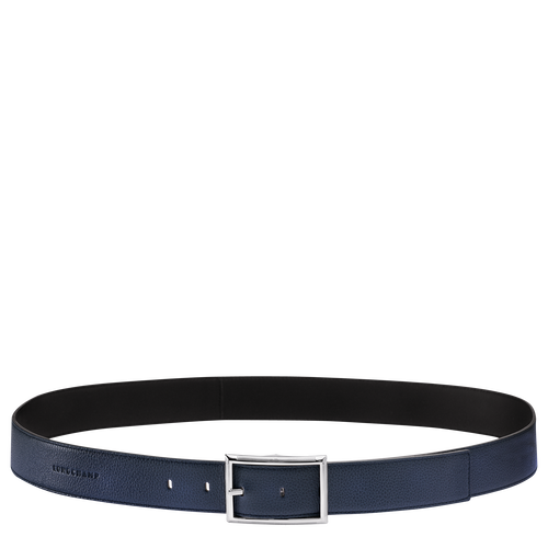 Men's belt, Navy/Black - View 1 of  1 -