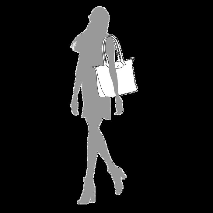 Shopper L, Schwarz/Ebenholz - Ansicht 5 von 5 - Zoom vergrößern