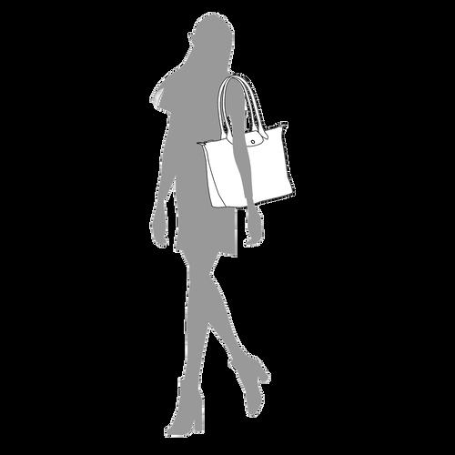 Shopper L, Metallgrau - Ansicht 5 von 5 -