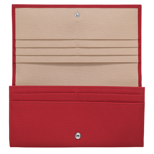 Long continental wallet, Red - View 2 of  2.0 -