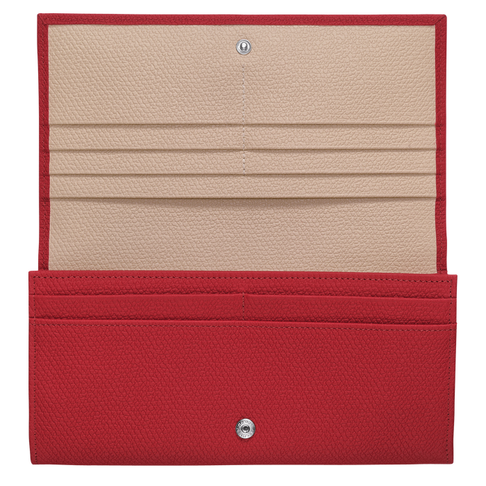 Long continental wallet, Red - View 2 of  2.0 - zoom in