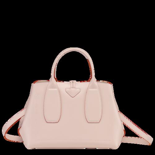 Roseau Top handle bag M, Powder