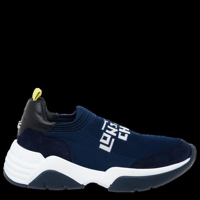 Sneakers, Noir/Marine - Vue 1 de 5 - agrandir le zoom