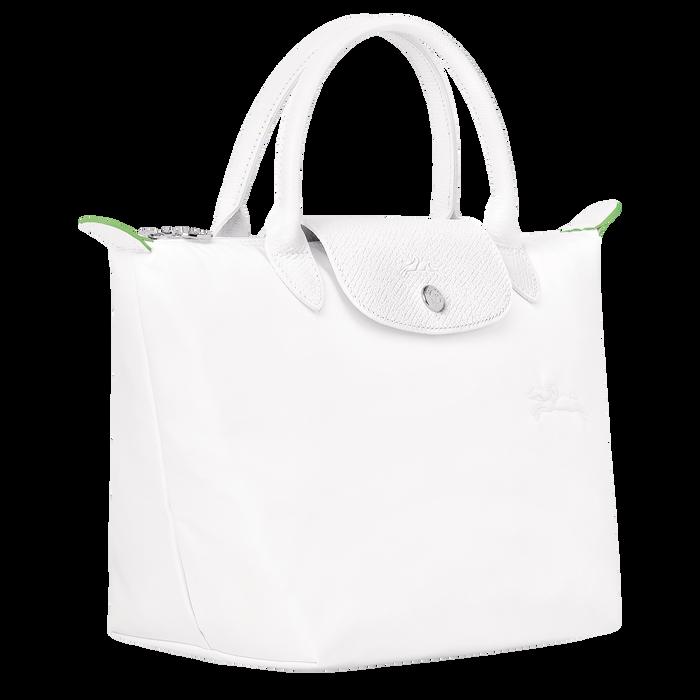 Le Pliage Green Tas met handgreep aan de bovenkant S, Wit