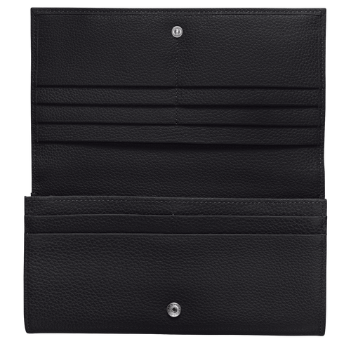 Long continental wallet, Black - View 2 of  2 -