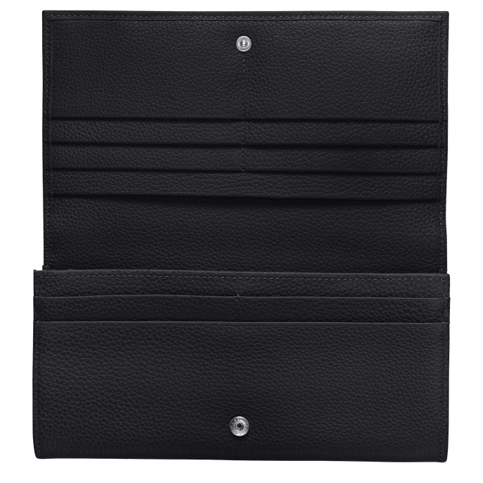 Long continental wallet, Black - View 2 of  2 - zoom in