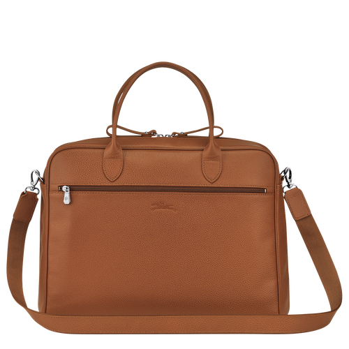 Briefcase M, Caramel - View 3 of 3 -