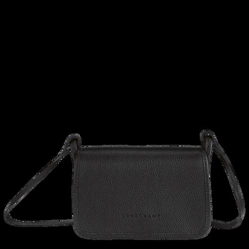 Wallet on chain Le Foulonné Black (10133021001) | Longchamp US