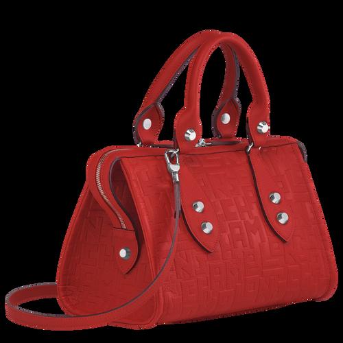 Top handle bag, Burnt Red, hi-res - View 2 of 3