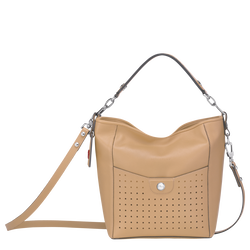 Small bucket bag, Beige, hi-res