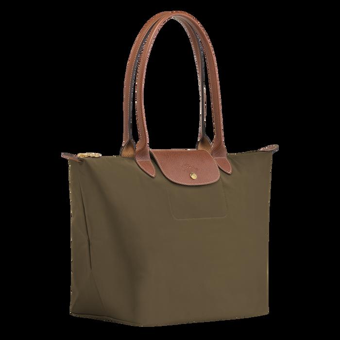 Shoulder bag L, Khaki - View 2 of  4 - zoom in