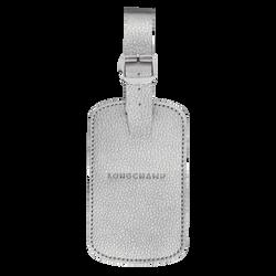 Luggage tag, 023 Silver, hi-res
