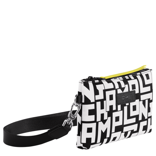 Pouch, Black/White - View 2 of  3 -