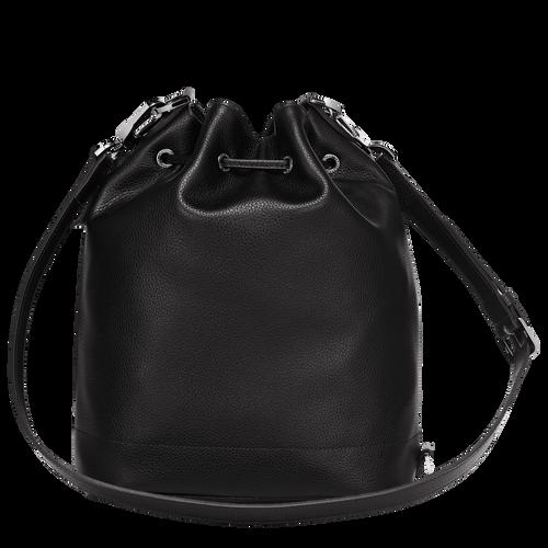 Bucket bag M Le Foulonné Black (10062021047) | Longchamp EN