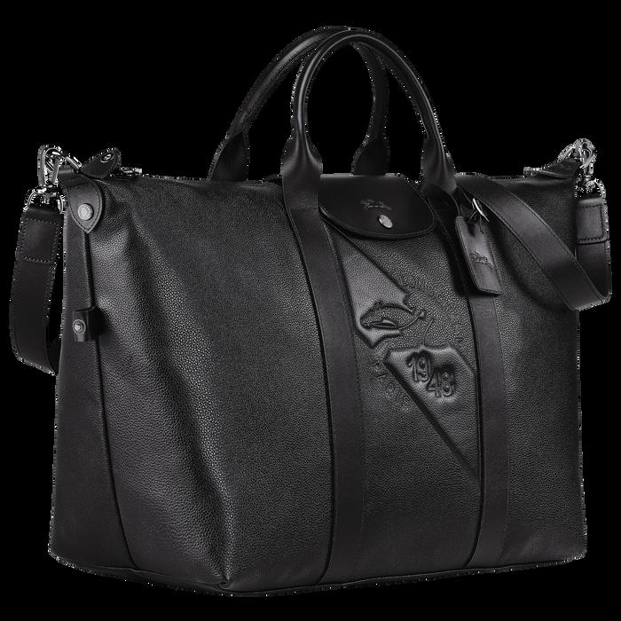 Travel bag L, Black/Ebony - View 2 of  3 - zoom in