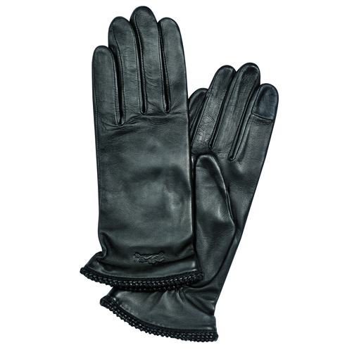 View 1 of Ladies' gloves, 001 Black, hi-res
