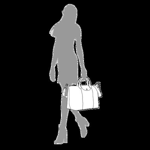 Handtasche L, Schwarz - Ansicht 8 von 10.0 -