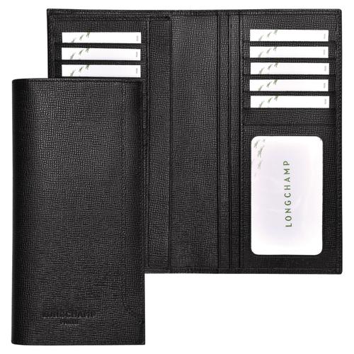 View 1 of Long wallet, Black, hi-res