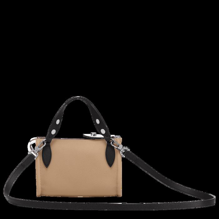 Crossbody bag, Natural/Black/White, hi-res - View 3 of 3