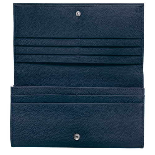Long continental wallet, Navy - View 2 of  3 -