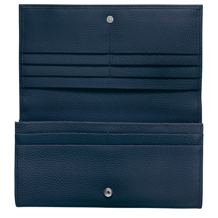 Long continental wallet, Navy - View 2 of  3 - zoom in