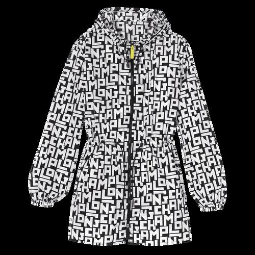 Rain coat, Black/White - View 1 of  1 -