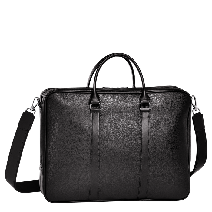 Briefcase L, Black - View 1 of  3 - zoom in