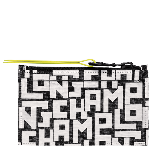 Coin purse, Black/White, hi-res - View 2 of 2