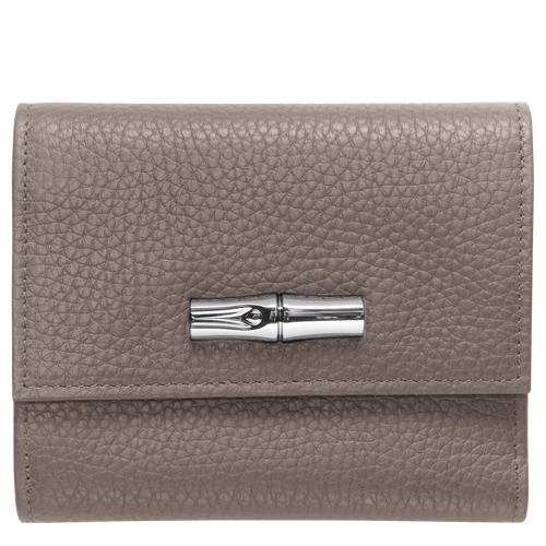 Compact wallet, Grey - View 1 of  2 -