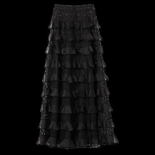 View 1 of Skirt, Black, hi-res