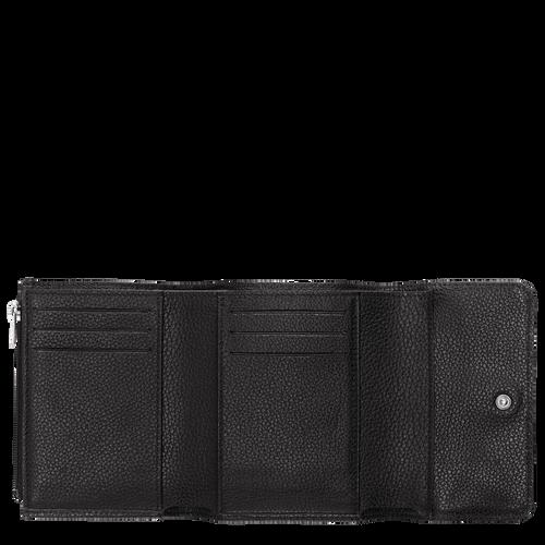 Vue 2 de Portefeuille compact, Noir, hi-res
