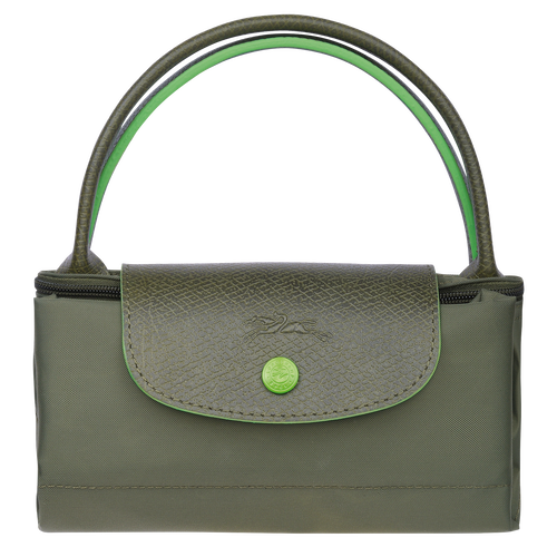 Top handle bag S, Longchamp Green - View 4 of 5 -