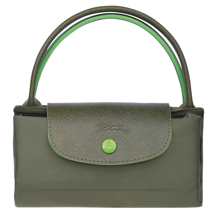 Top handle bag S, Longchamp Green - View 4 of 5 - zoom in