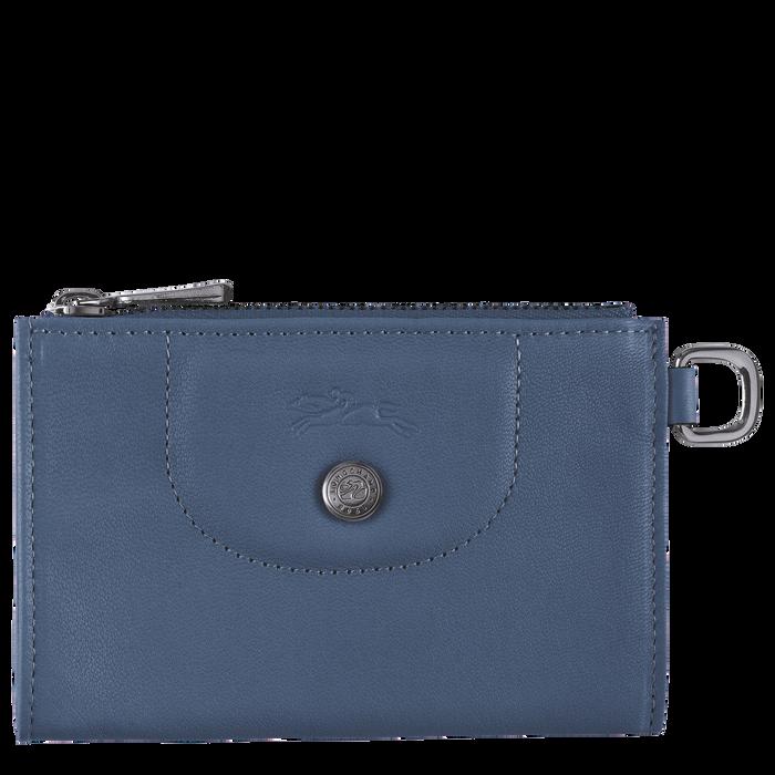 Le Pliage Cuir 鑰匙包, 機師藍色