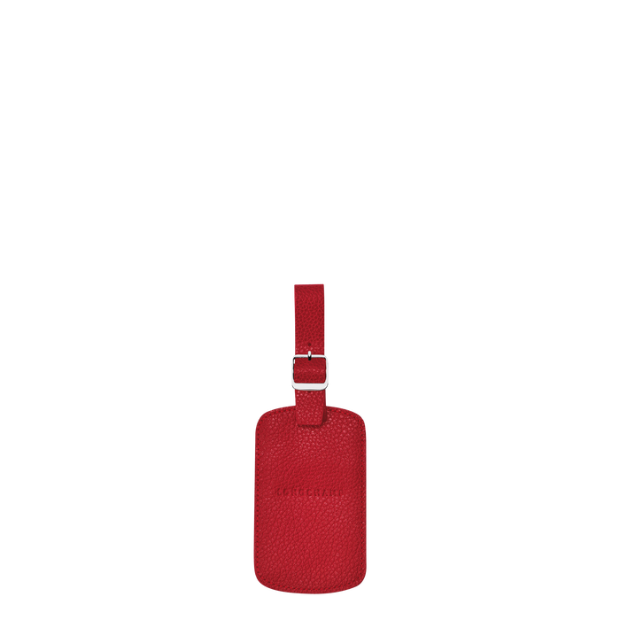 Le Foulonné Luggage tag, Red