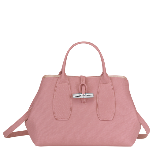 Top handle bag M, Antique Pink, hi-res - View 1 of 4
