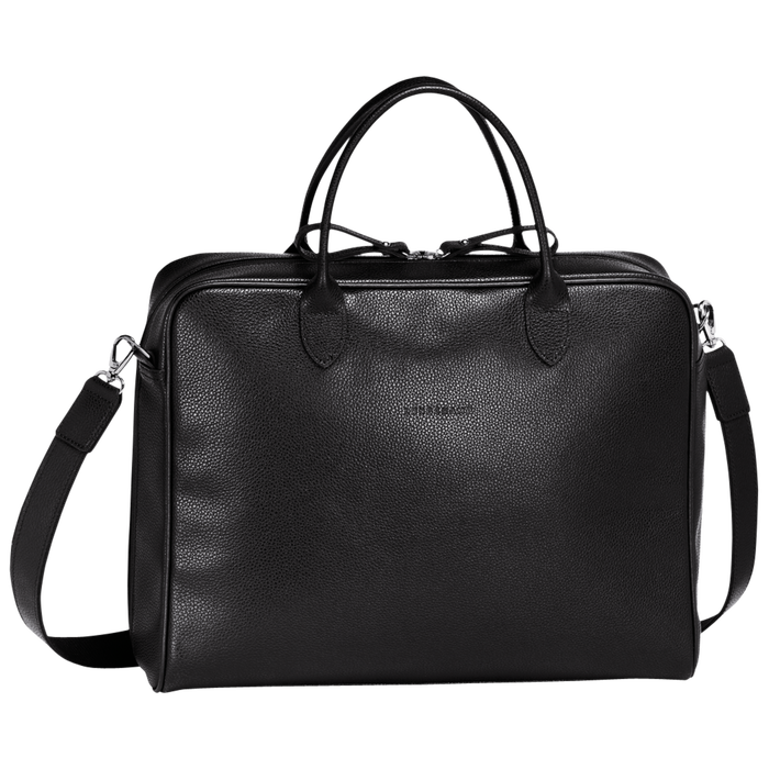Briefcase M, Black - View 1 of  3 - zoom in