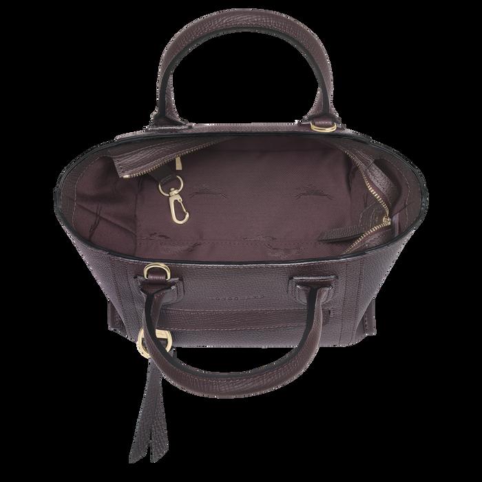 Handtasche S, Aubergine - Ansicht 4 von 4 - Zoom vergrößern