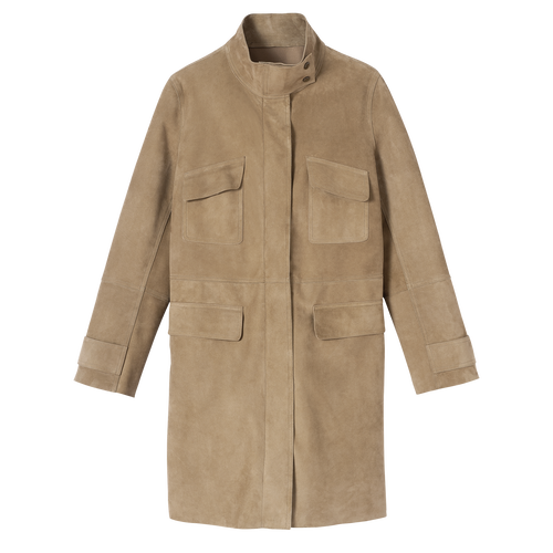 Coat, Khaki - View 1 of  1 -