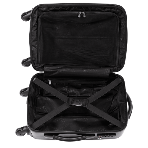 Small wheeled suitcase, Black, hi-res - View 3 of 3