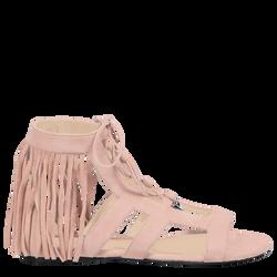 Flat sandals, 118 Pink, hi-res